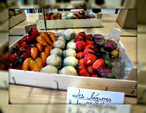 sweet vegetables