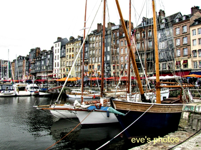 Honfleur -The Marina